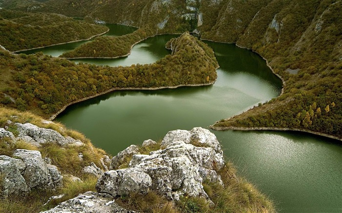 Curved rivers-Travel Nature Wallpapers Views:5787