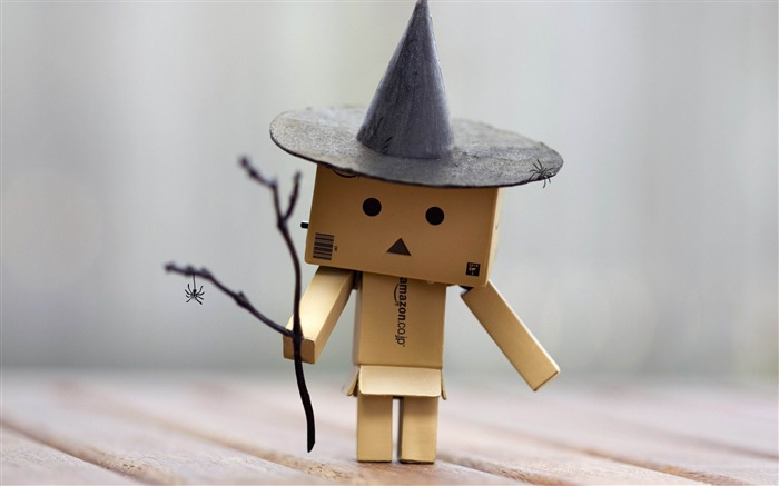 Danbo-2012 Happy Halloween theme Wallpapers Views:6921