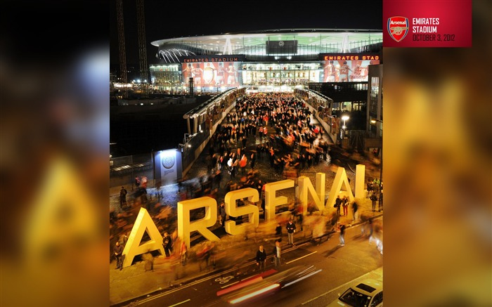 Emirates Stadium-Arsenal 2012-13 season wallpaper Views:8424