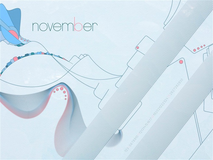 First Icicles Of The Coming Winter-November 2012 calendar wallpaper Views:4780