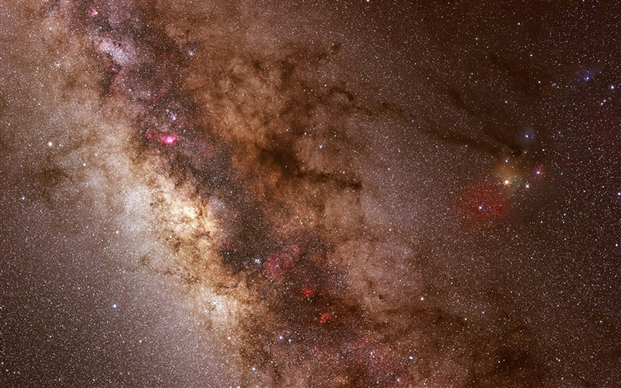 Galactic Center-MAC OS X Mountain Lion HD Wallpapers Views:15579