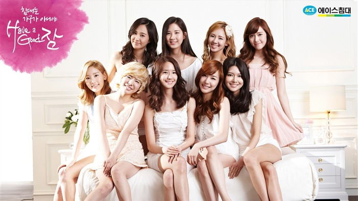 Girls Generation-beautiful idols combination of HD photo wallpapers 03 Views:5644