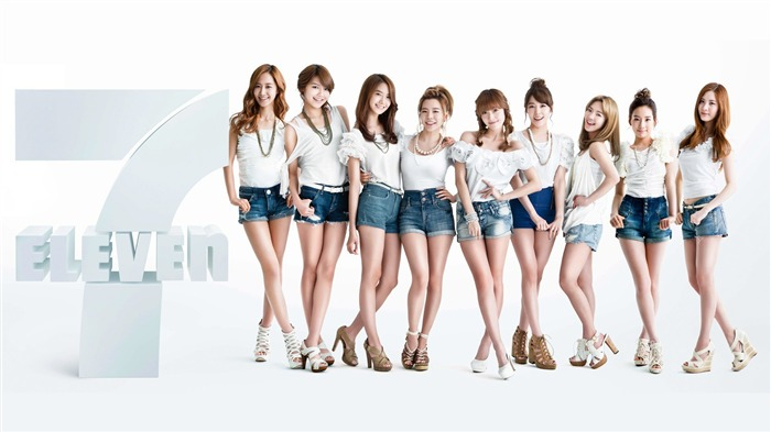 Girls Generation-beautiful idols combination of HD photo wallpapers 13 Views:5665