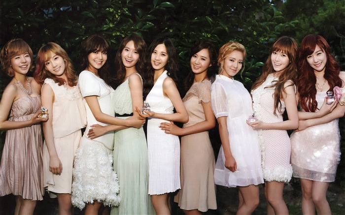 Girls Generation-beautiful idols combination of HD photo wallpapers 16 Views:4427