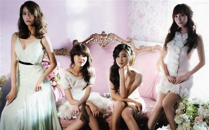 Girls Generation-beautiful idols combination of HD photo wallpapers 17 Views:6255