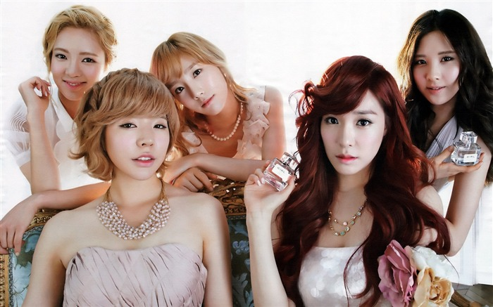 Girls Generation-beautiful idols combination of HD photo wallpapers 18 Views:5802