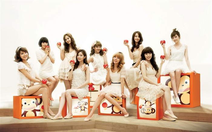 Girls Generation-beautiful idols combination of HD photo wallpapers 25 Views:3957