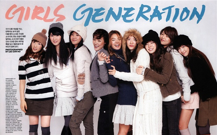 Girls Generation-beautiful idols combination of HD photo wallpapers 28 Views:2364