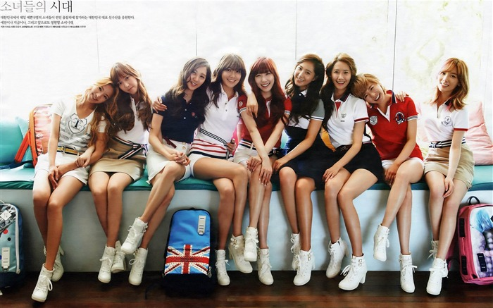 Girls Generation-beautiful idols combination of HD photo wallpapers 29 Views:5181