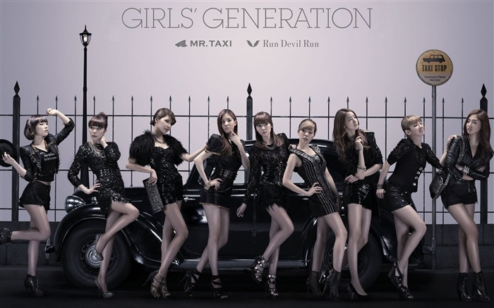 Girls Generation-beautiful idols combination of HD photo wallpapers 30 Views:7170