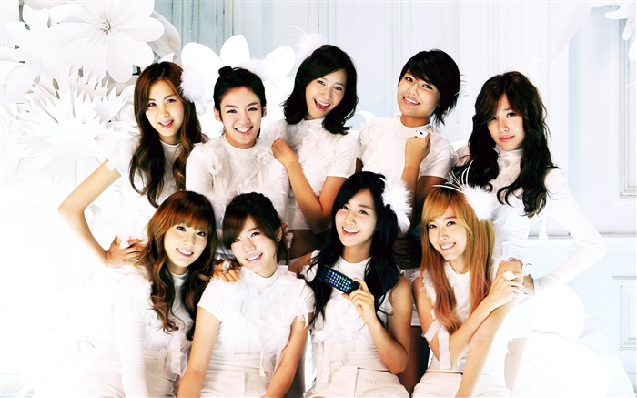 Girls Generation-beautiful idols combination of HD photo wallpapers 31 Views:7257