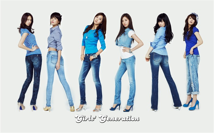 Girls Generation-beautiful idols combination of HD photo wallpapers 33 Views:4178