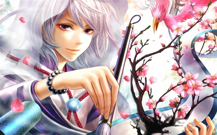 Magic Pen cherry blossom-Anime design HD wallpaper Views:46932