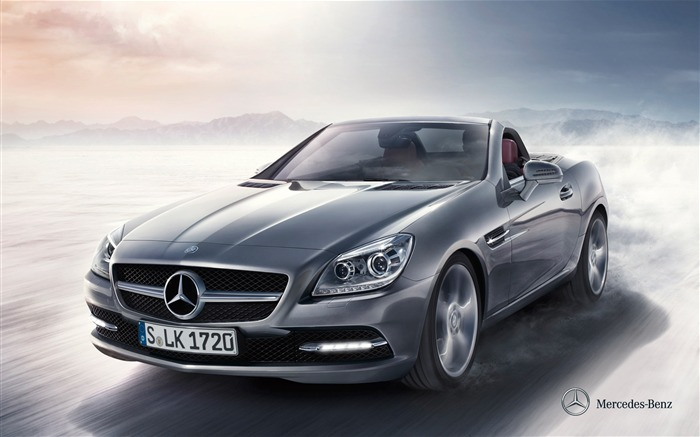 Mercedes Benz SLK roadster auto HD Wallpaper Views:15587