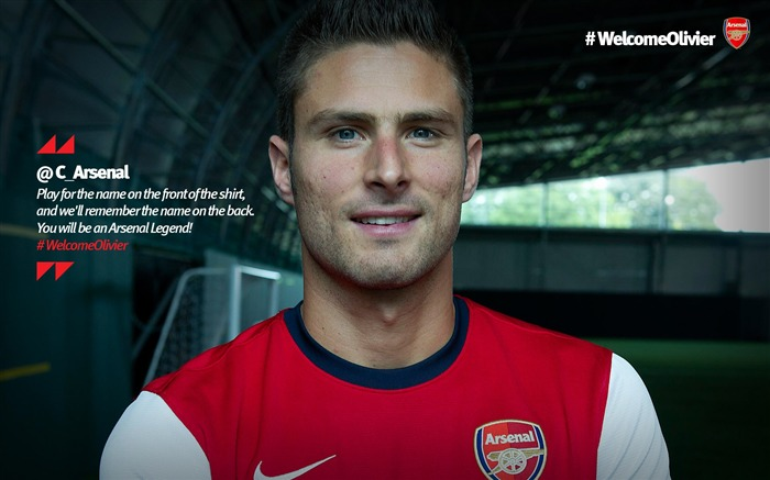 Olivier Giroud-Arsenal 2012-13 season wallpaper 02 Views:10830