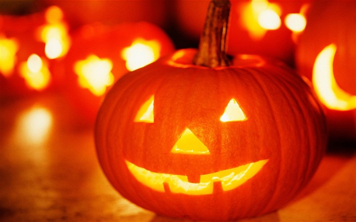 2012 Happy Halloween theme Wallpapers Views:8688