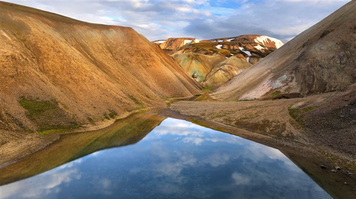 mountains of iceland-Travel Nature Wallpapers Views:4952