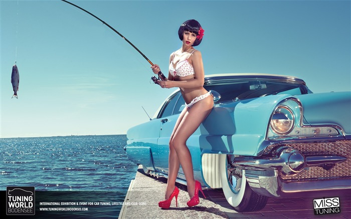 2013 German tuning car models sexy lady HD wallpapers Views:21617