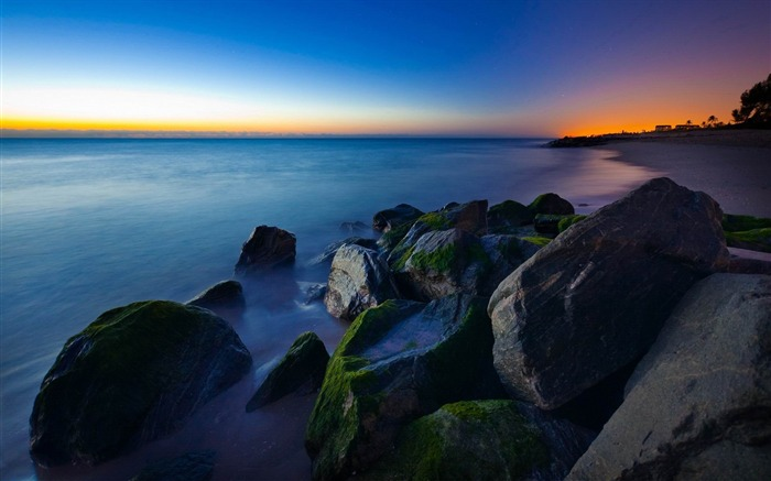 Beach Rocks-2012 landscape Selected Wallpaper Views:6144