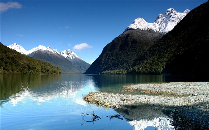 Fiordland National Park-nature scenery wallpapers Views:6533