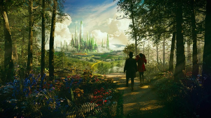 Oz The Great and Powerful Movie HD Desktop Wallpaper 02 Views:3933