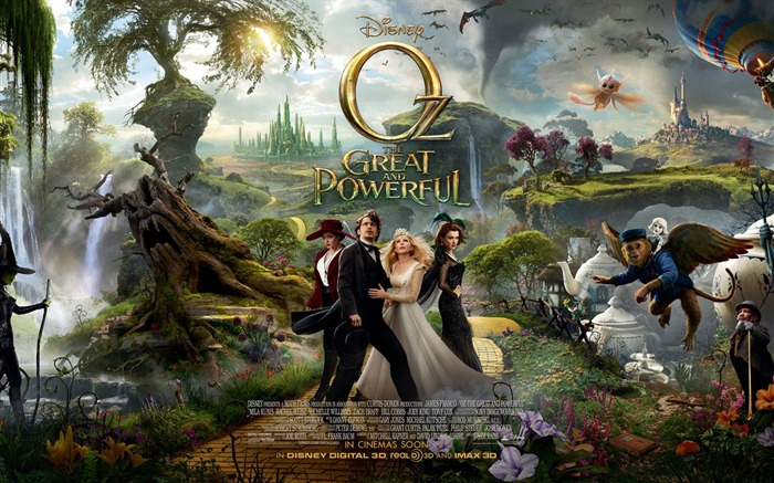 Oz The Great and Powerful Movie HD Desktop Wallpapers Views:13609