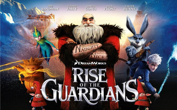Rise of the Guardians HD Film bureau  Fonds d'écran Vues:13495