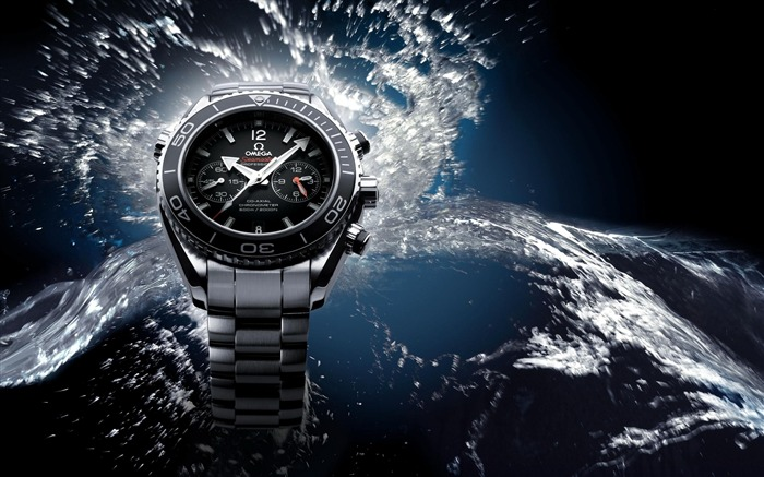 Watches Omega Water-Fashion watches wallpaper Views:7899