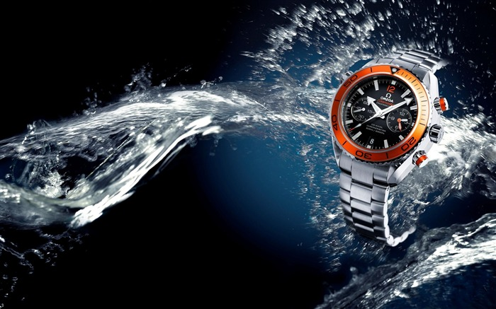 Watches Omega Water Seamaster-Fashion watches wallpaper Views:6158