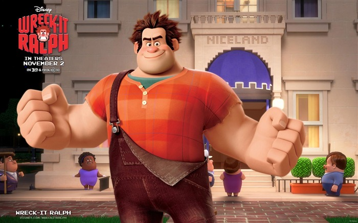 Wreck-It Ralph Movie HD Desktop Wallpapers Views:14694