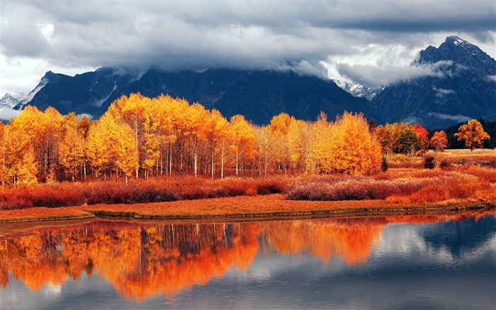 autumn-nature scenery wallpapers Views:5313