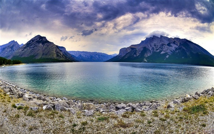 banff national park-nature scenery wallpapers Views:7392