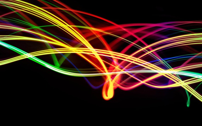 colorful light strands-2012 abstract design Selected Wallpaper Views:7276
