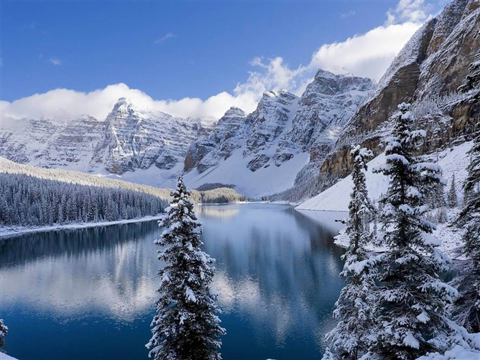 Ice and snow-winter scenery Desktop Wallpapers Views:22522