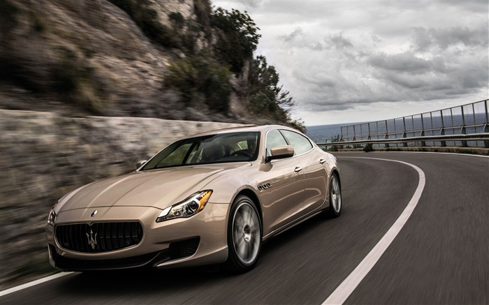 2013 Maserati Quattroporte Auto HD Wallpapers Views:9443