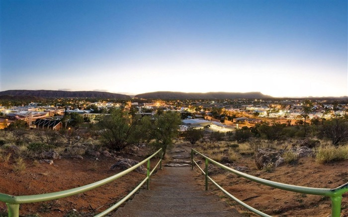 Anzac Hill Alice Springs Australia-Natural landscape Photography Wallpaper Views:4917