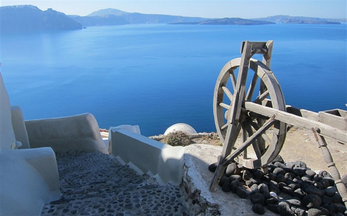 Dimitris Santorini Greece-Natural landscape Photography Wallpaper Views:6193