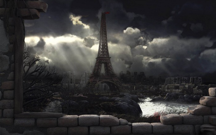 End of Paris-Aftermath world illustrator wallpaper Views:10314