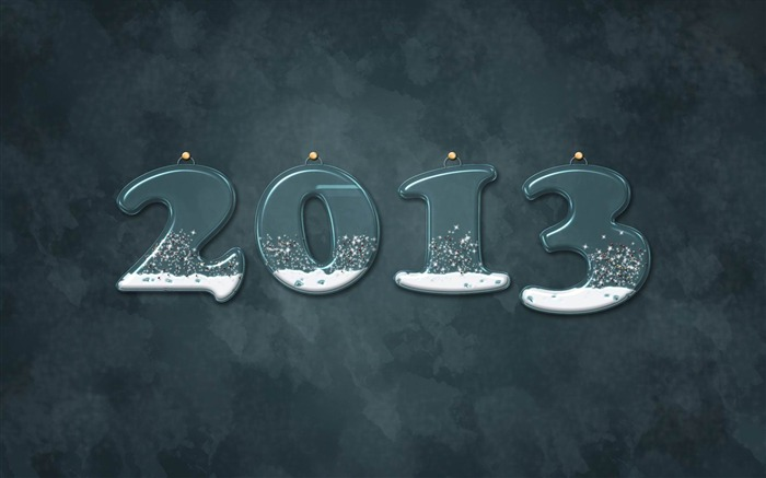 Happy New Year 2013 theme Widescreen Wallpaper 10 Views:3864