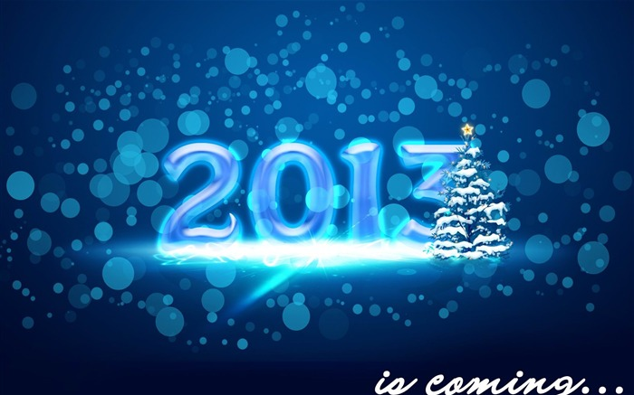 Happy New Year 2013 theme Widescreen Wallpaper 13 Views:4114
