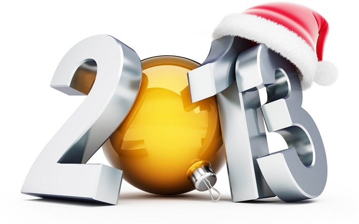 Happy New Year 2013 theme Widescreen Wallpaper 24 Views:2829