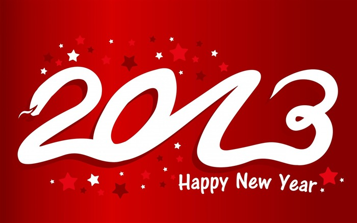 Happy New Year 2013 theme desktop Wallpapers Views:16586