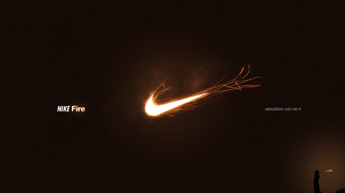 Nike logo - the global brand advertising wallpaper 01 Views:6746