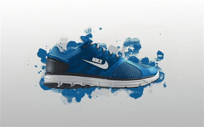 Nike logo - the global brand advertising wallpaper 02 Views:3277