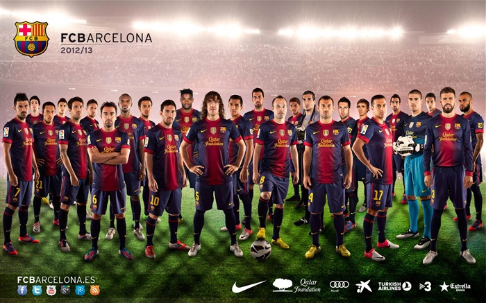 FC Barcelona Football Club HD Desktop Wallpapers Views:25055