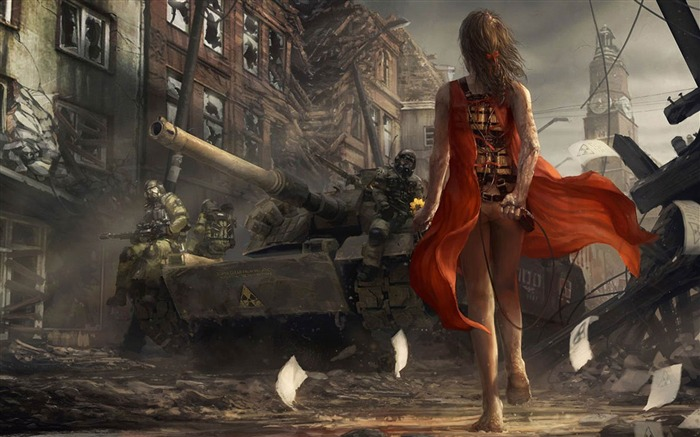 Suicide attacks-Aftermath world illustrator wallpaper Views:4479