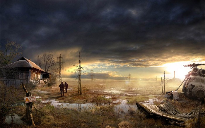 Swamp House-Aftermath world illustrator wallpaper Views:2627