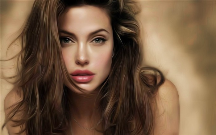 Angelina Jolie beautiful actress HD photo wallpaper 01 Views:10288