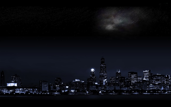 Chicago-Cities architectural landscape wallpaper Views:8888