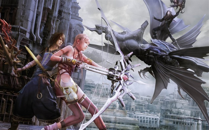 Final Fantasy XIII-2 Battle in Valhalla-2012 游戏精选高清壁纸 浏览:5605